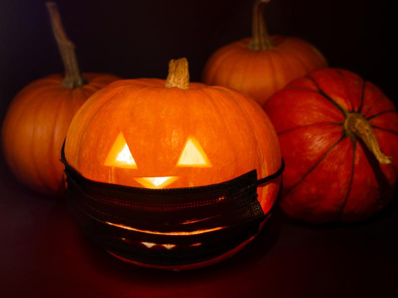 Coronaproof Halloween