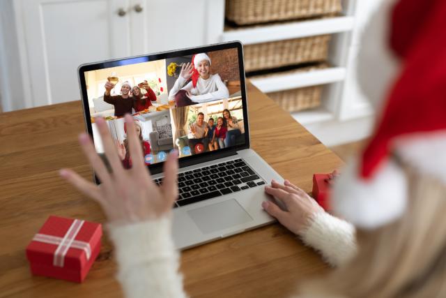 videobellen met kerst