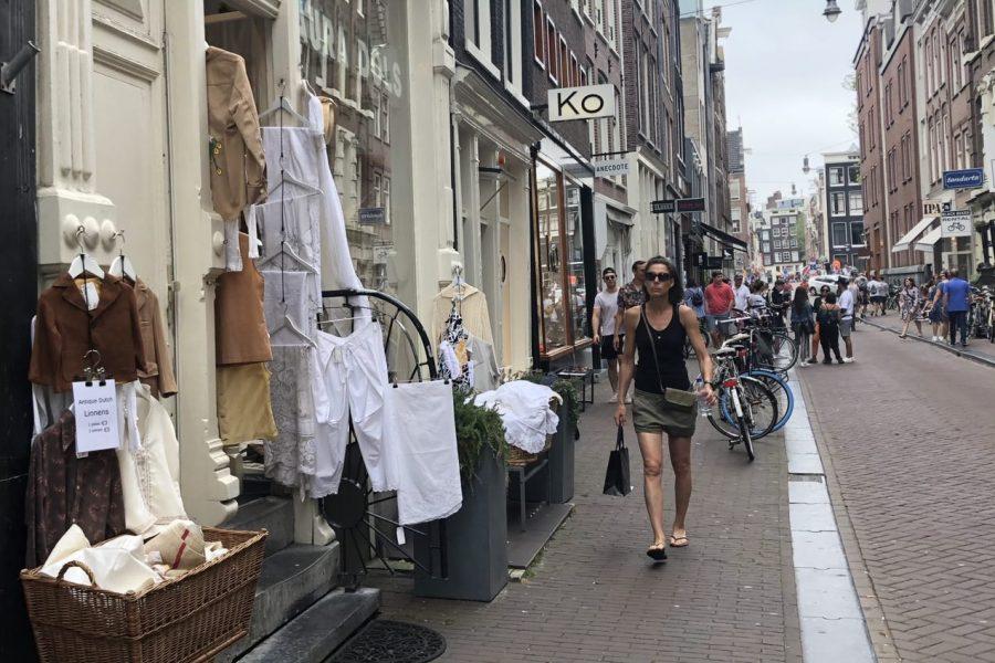 9 straatjes winkelen