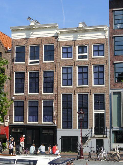 Anne Frank Huis - Cor2701 via commons.wikimedia CC BY-3.0