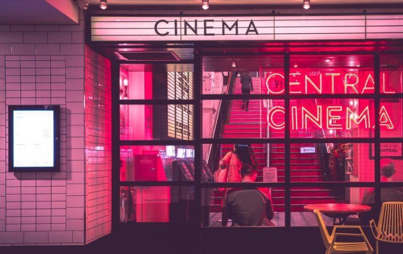 Bioscoop neon