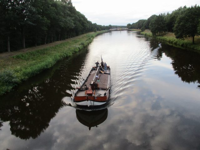 Bluhmenschau, de terugreis vanf Papenburg