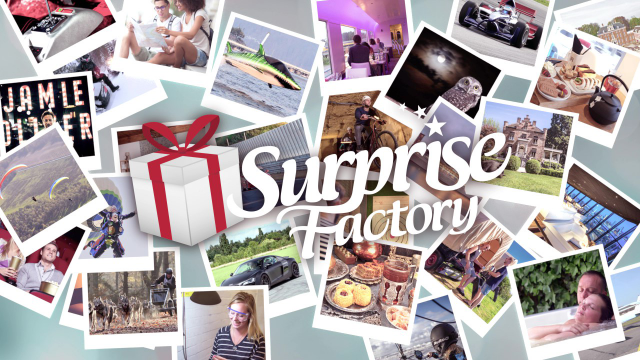 Surprise Factory cadeaus