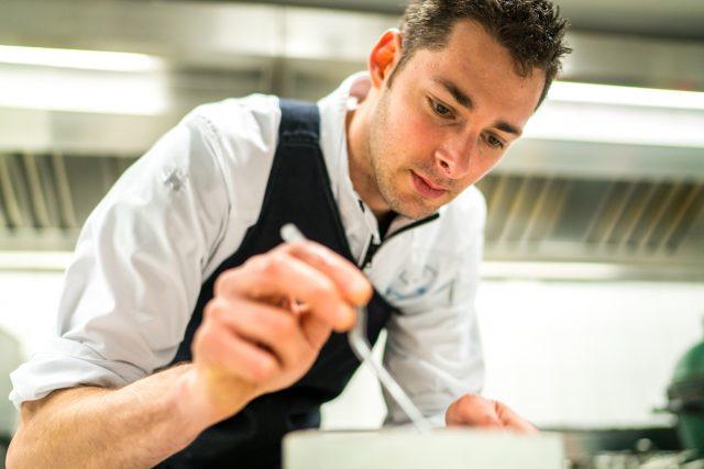chef Takis van Restaurant Elea