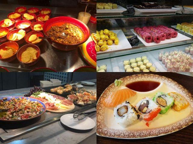 FoodExplore collage lekker eten