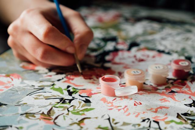 Schilderen op nummer hobby