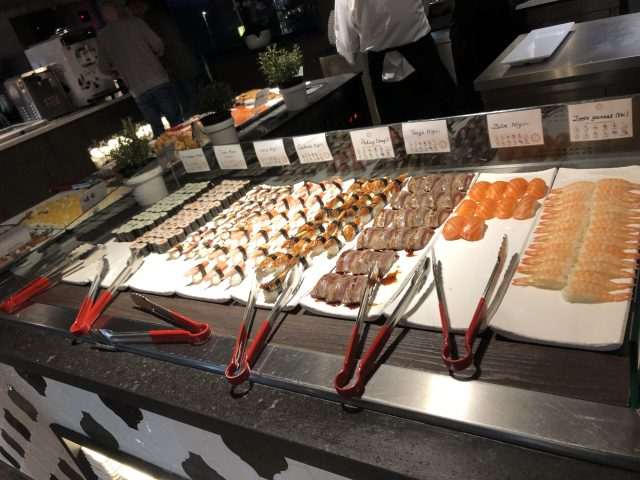 Uitgebreid buffet bij Restaurant Samen