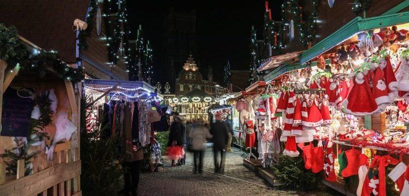 Kerstmarkt gezellig