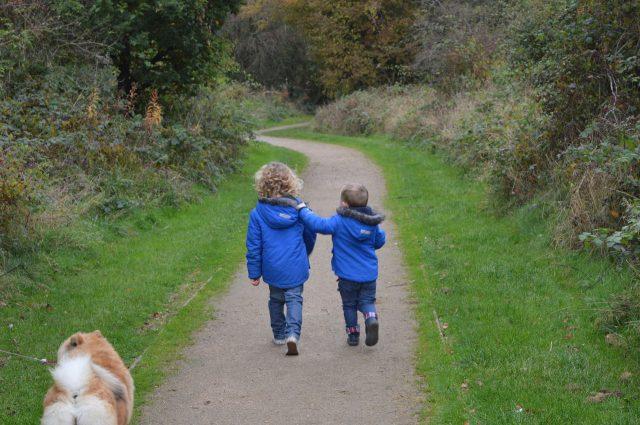 Kinderen op pad