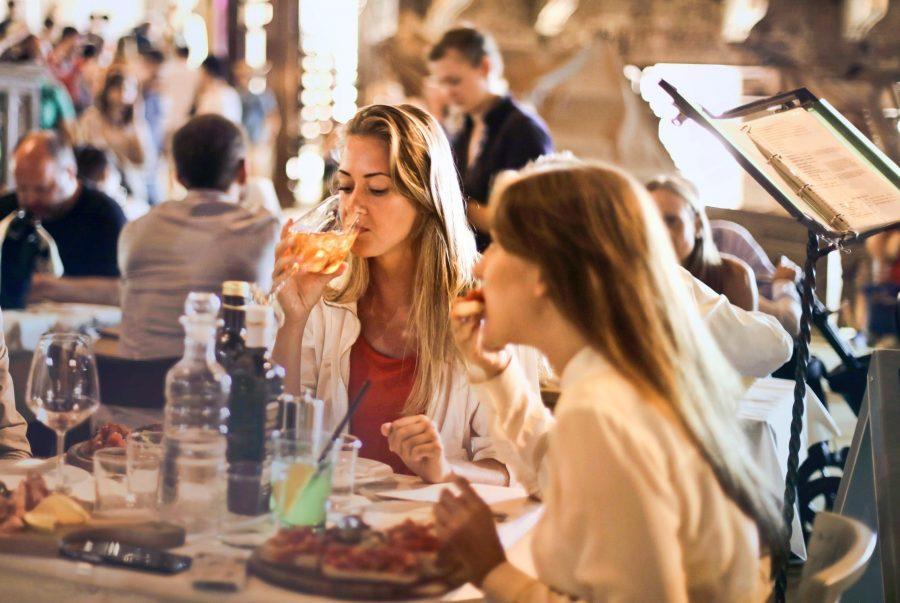 Uit eten met Moederdag
