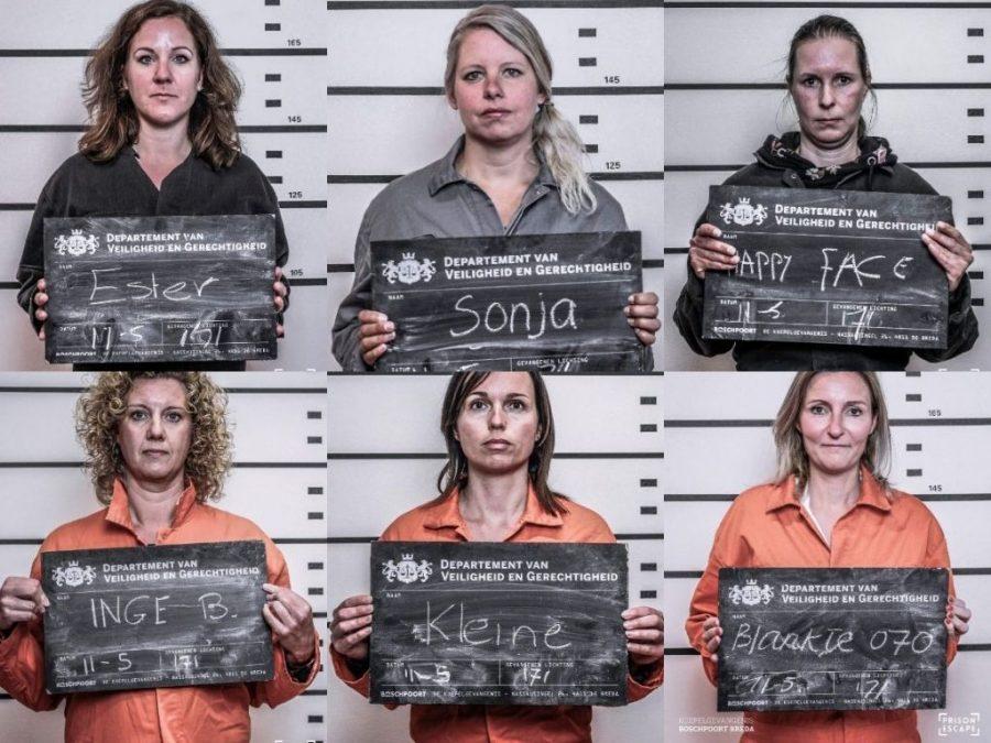 Mugshots Prison Escape