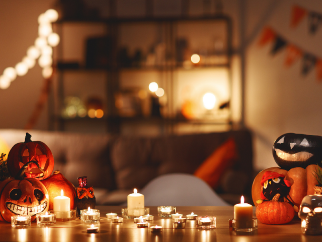 Halloween thuis