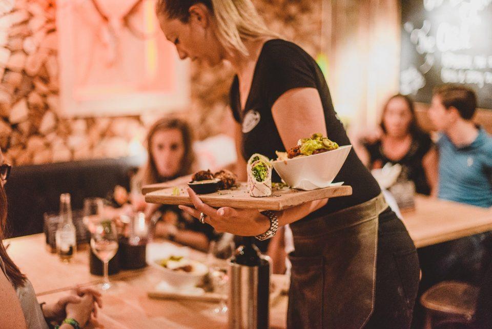 Restaurant Hudson vrouw