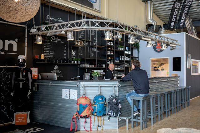 Mooie bar en ruimte voor groepsuitjes