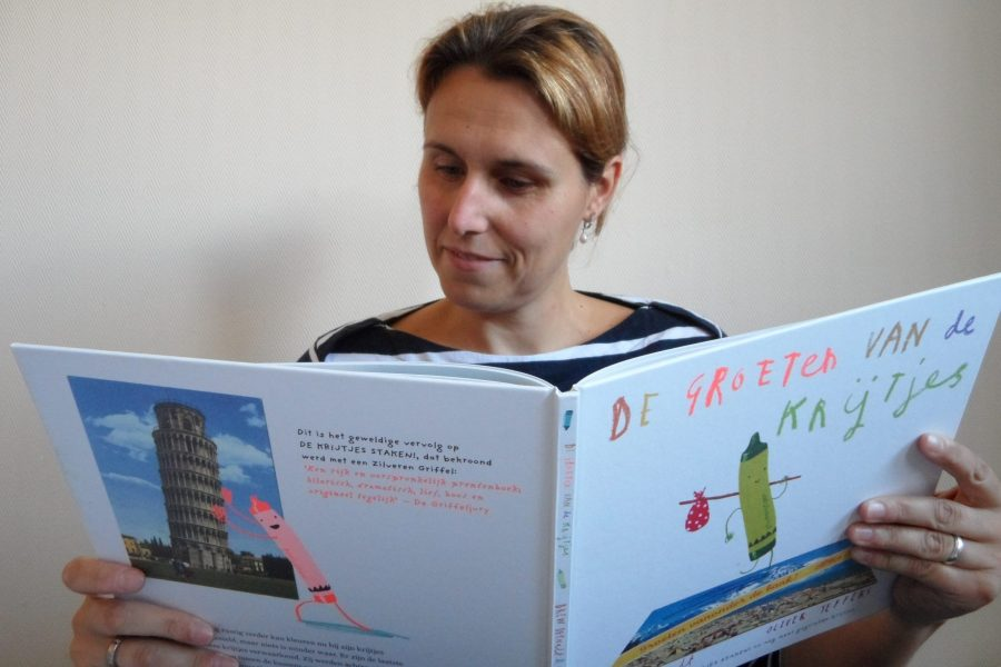 Louise met kinderboek