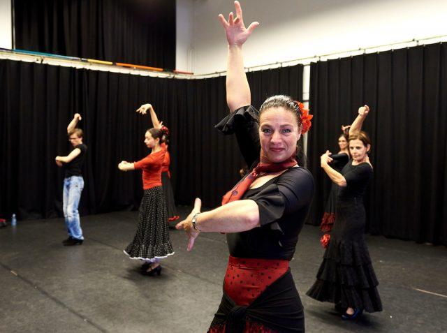 Flamengo dansers van Liz Dans