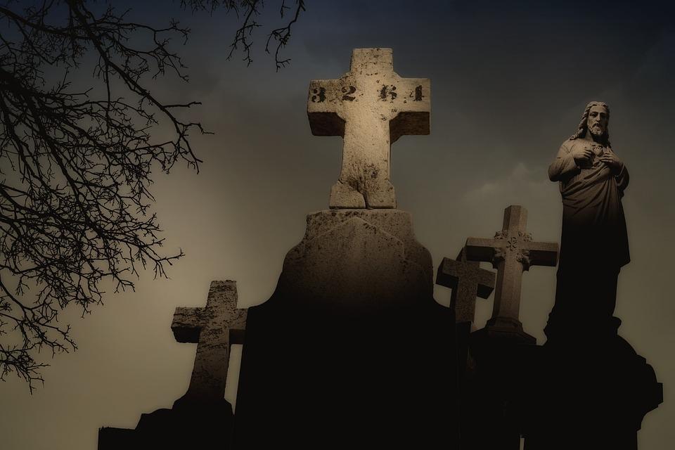 Spookhuizen begraafplaats