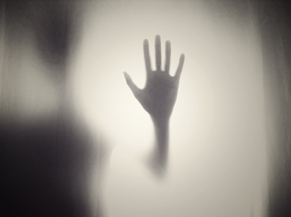 Spookhuizen enge hand