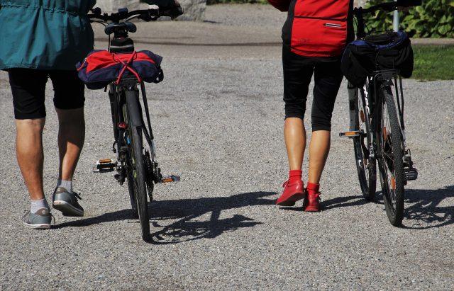 Stel aan het fietsen