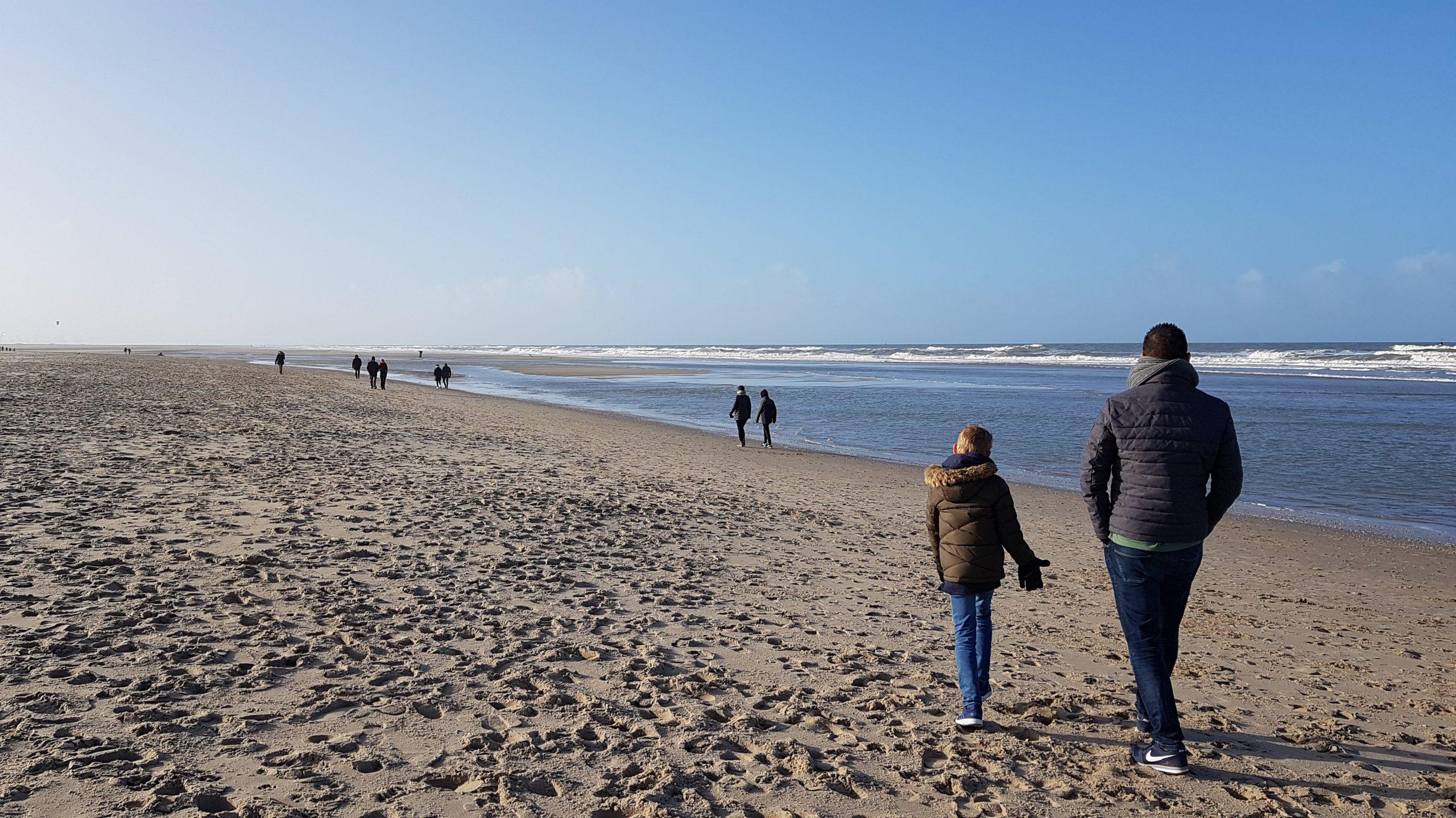 Strand uitgelicht