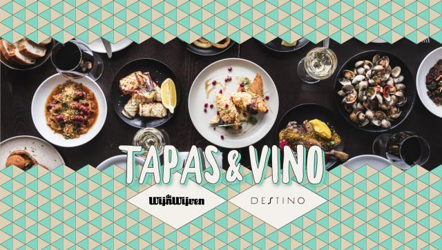 Tapas en Vino bij Destino