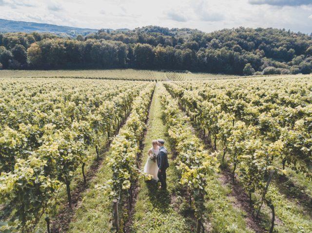 Trouwen op een wijnboederij