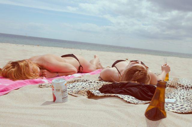 dagje strand in Nederland