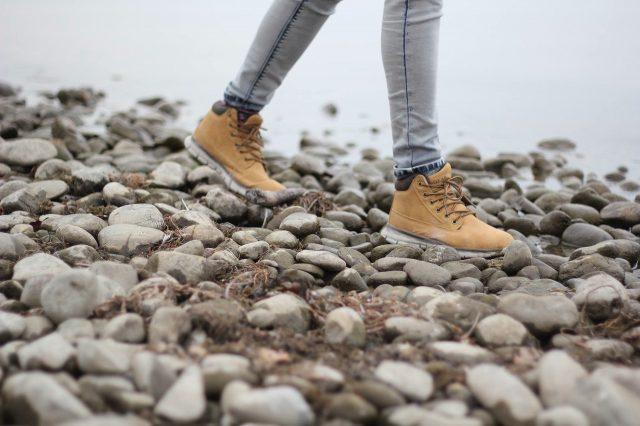 Wandelen stenen zeeland