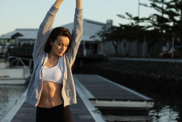 blijf fit en in beweging