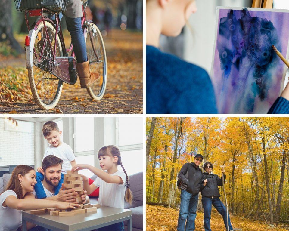 Collage activiteiten canva