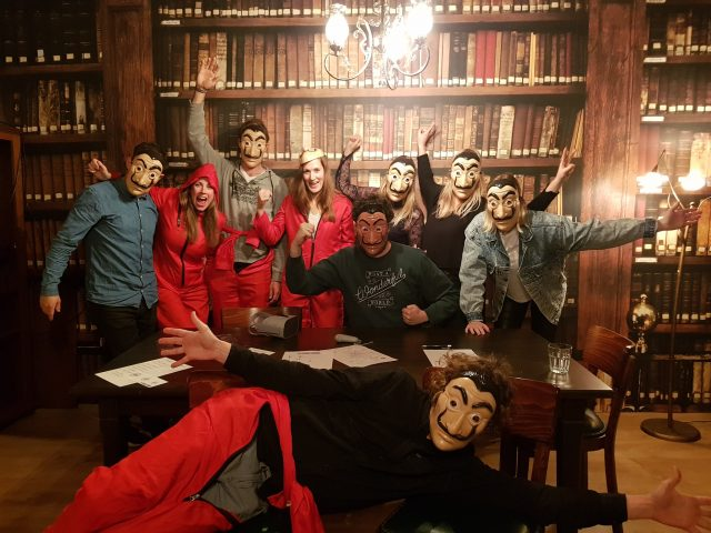 escaperoom time Casa de Papel