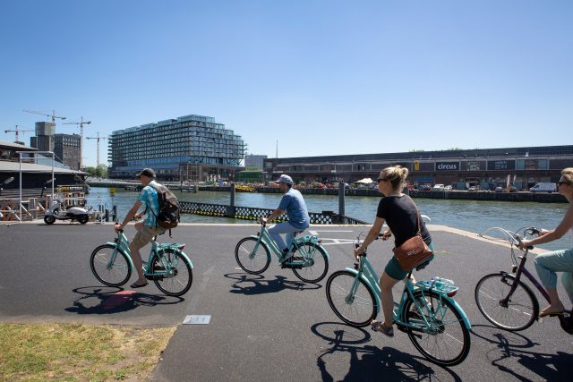 fietsen in Rotterdam met de foodtour