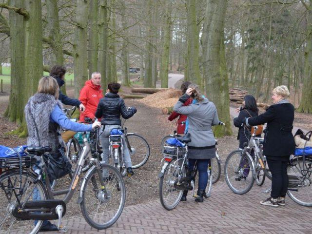 fietstour op de Veluwe