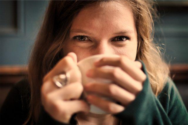 koffie drinken bij Hudson