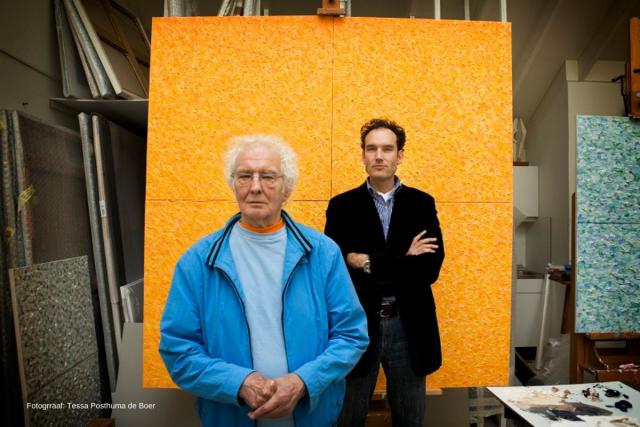 Jan Wolkers en Onno Blom