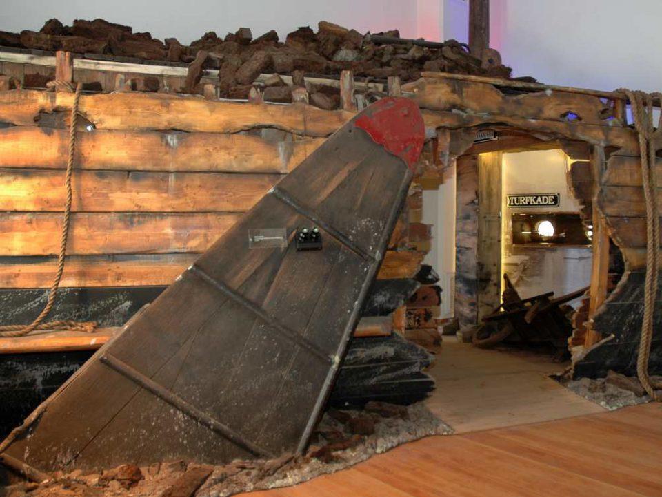 scheepswrak Veenkoloniaal Museum