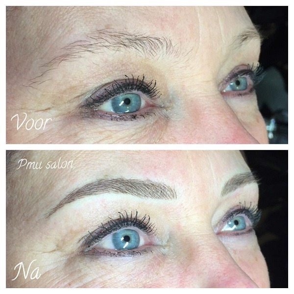 voorbeeld permanente make-up