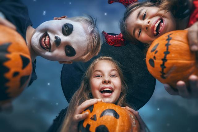 Halloween in de herfstvakantie